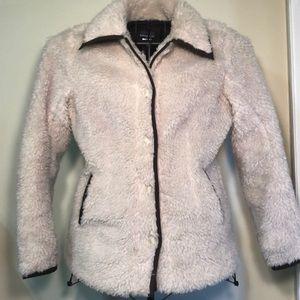 Patagonia button down jacket coat winter cream